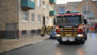 Källarbrand på Suellsgatan