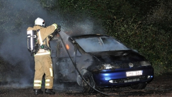 Explosion var bilbrand