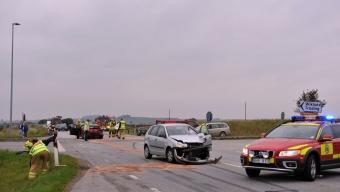Otäck olycka på väg 17