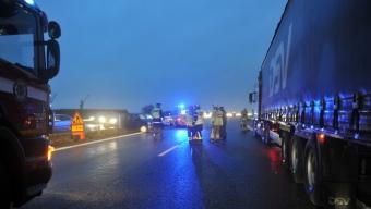 Ytterligare en trafikolycka vid flytdockan
