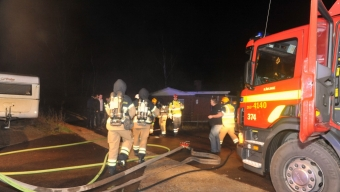 83-årig kvinna omkom i villabrand