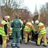 Mc i trafikolycka på Säbygatan