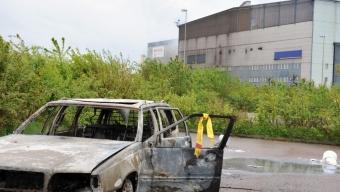 Bilbrand vid ScunDust