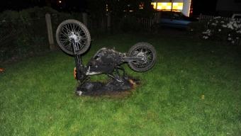 Mopedbrand på Öster