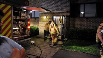 Brand i lägenhet var torrkokning