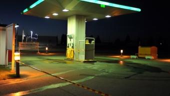 Sabotage på bensinstation