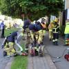 Lägenhetsbrand på Koppargården
