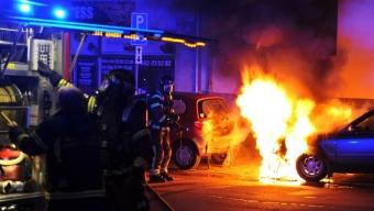 Bilbrand på Tågaborg