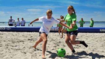 Sambafotboll för 13-16 åriga tjejer