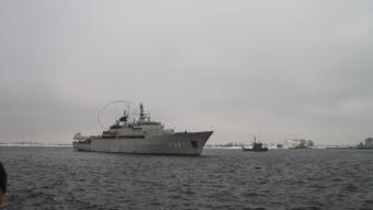 HMS Carlskrona åter hemma