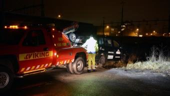 Stulen taxi hittades i Landskrona