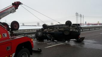 Otäck olycka på E6 vid Center Syd