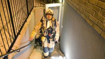 Misstänkt lägenhetsbrand på Silvergården