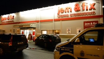 Pistolrån mot Jem & Fix
