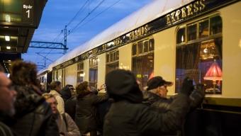Orientexpressen kom till Landskrona