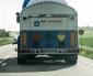 Lastbil läckte oxygen
