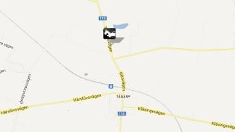 Trafikolycka i Tågarp
