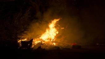 Brand i bråte