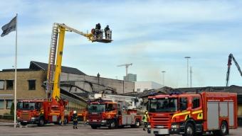 Storbrand i Helsingborg