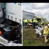 Flera allvarliga olyckor på E6