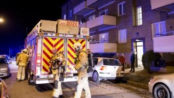 Balkongbrand på Timmermansgatan