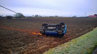 Blixthalka: 8 trafikolyckor