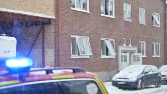 Lägenhetsbrand på Tränggatan