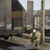 Brand i godstågsvagn