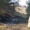 Gräsbrand vid Sandåkerskolan