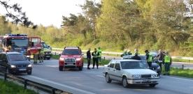 E6: Trafikolycka vid Lundåkra