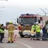 Olycka på väg17-bron över E6:an