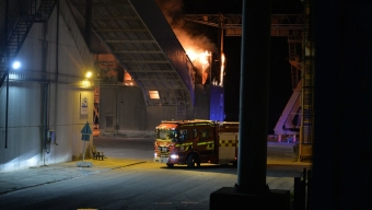 Video från branden
