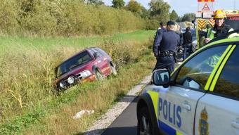 Trafikolycka utanför Svalöv