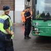 Buss i krock med taxi