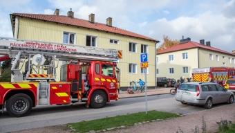 Lägenhetsbrand var torrkokning