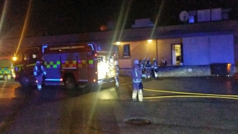 Anlagd brand på Karlslunds pizzeria
