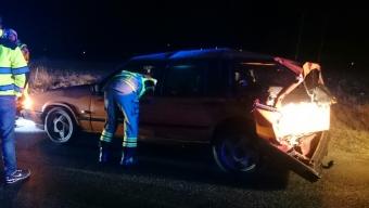 Trafikolycka utanför Marieholm
