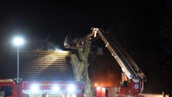 Takbrand i Örja kyrkby