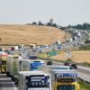E6: Kollision mellan lastbil och personbil