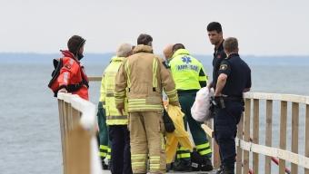 Kvinna drunknade vid Kallbadhuset