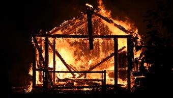 Brand i kolonistuga