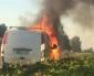 Bilbrand på E6