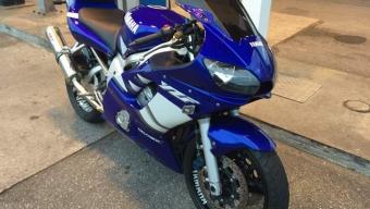 Stulen motorcykeln