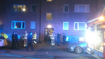 Köksbrand på Timmermansgatan