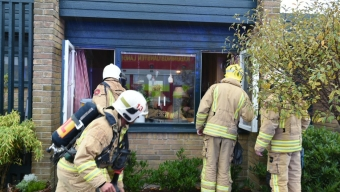 Insatsledare släckte köksbrand