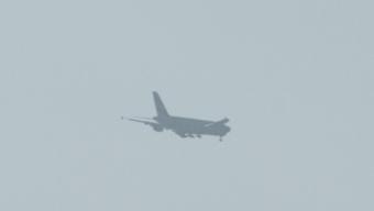 En glimt av A380