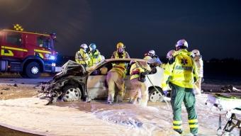Döms till böter för att kört in i bil