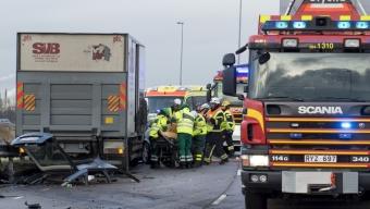 Allvarlig olycka vid Råå