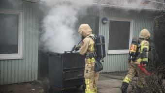 Brand i sophus på Ödmanssongatan