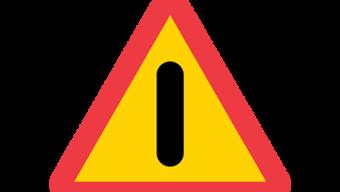 Mycket halt på vägarna
